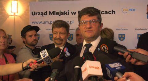 Briefing prezydenta Pabianic 2019-09-05