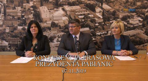 Konferencja prasowa 2019-11-07