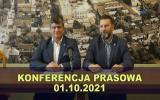 Konferencja prezydenta Pabianic 2021-10-01