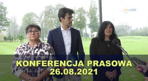 Konferencja prasowa 2021-08-26