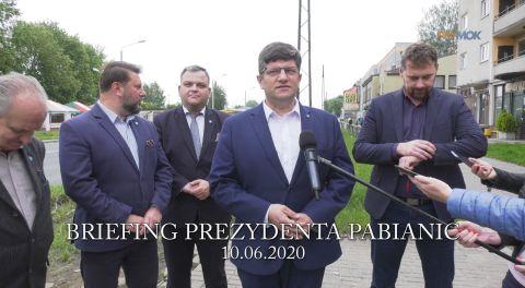 Briefing prasowy prezydenta 2020-06-10