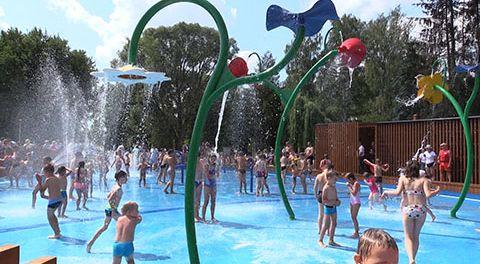 Otwarcie Wodnego Placu Zabaw w Pabianicach
